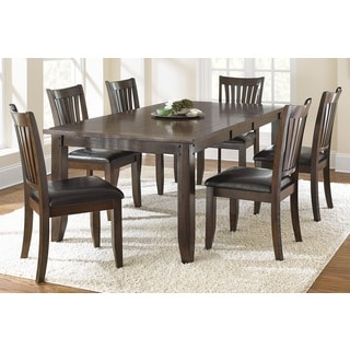 Greyson Living Jacey Warm Brown Oak Dining Set