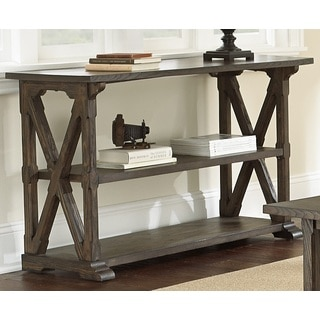 Springfield Weathered Sofa Table