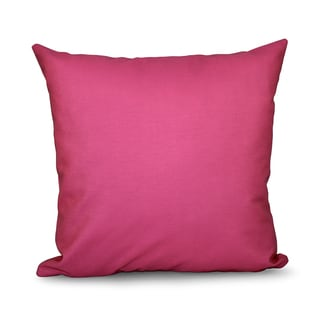 Solid Faux-down Decorative Accent Pillow