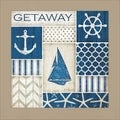 Jennifer Pugh 'Coastal Getaway' Framed Wall Art