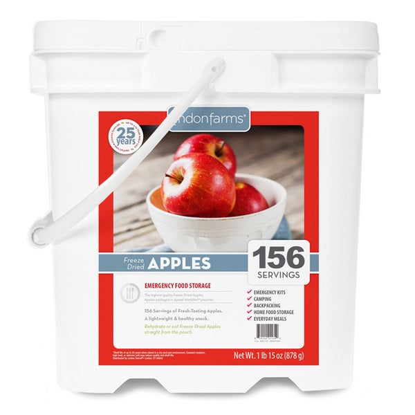 Lindon Farms Freeze Dried Apples (156 Servings)