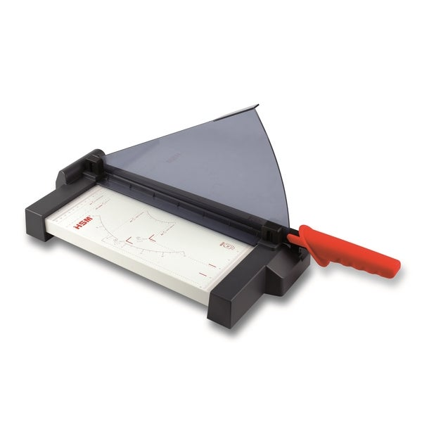 HSM Cutline G3210 Guillotine Paper Cutter (10 Sheet / 12.8-inch Cut)