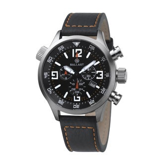 Ballast Odin Men's Black Stainless Steel Watch
