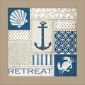 Jennifer Pugh 'Coastal Retreat' Framed Wall Art