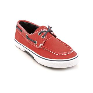 Sperry Top Sider Boy (Youth) 'Halyard' Canvas Casual Shoes