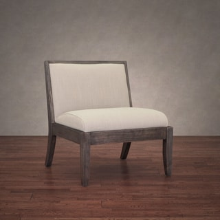 Spencer Taupe Linen Chair