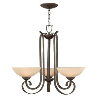 Hinkley Lighting Middlebury 3-light Tuscan Iron Chandelier