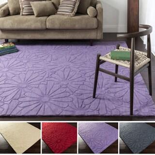 Hand-loomed Molalla Floral Wool Area Rug (3'3 x 5'3)
