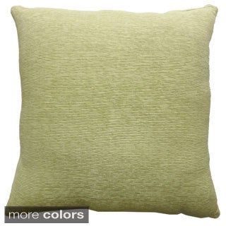 Celebration Agra Ribbed 22x22-inch Decorative Pillow