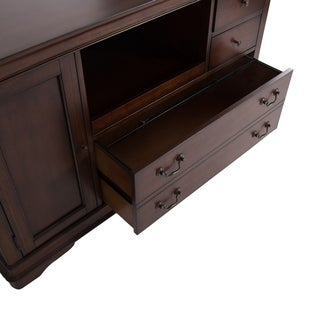 Liberty Rustic Cherry 52-inch Mobile Credenza
