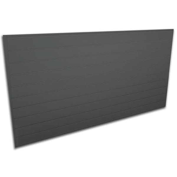 Proslat 32 sq. ft. Heavy-duty Charcoal Slatwall Organizer