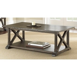 Springfield Weathered Pine Coffee Table