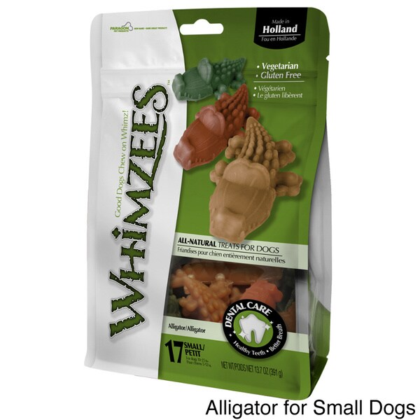 Whimzees All Natural Gluten-free Animal Shape Dog Treats