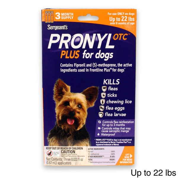 Pronyl OTC Plus Flea/ Tick Treatment for Dogs