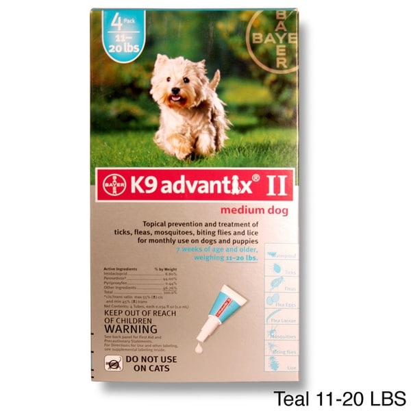 K9 Advantix II Blue 55 Plus Pounds