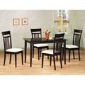 Andrew's Cappuccino Finish 5-piece Dining Set