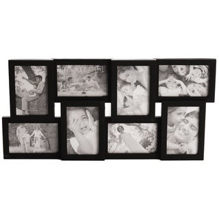 Melannco 8-opening Black Photo Collage Frame