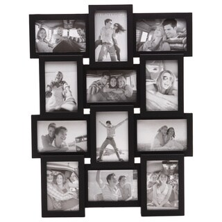 Melannco Black 12 Opening Frame (Six-4X6 six-6X4)