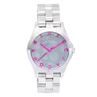 Marc Jacobs Women's MBM3266 'Henry' Dot Stainless Steel Watch
