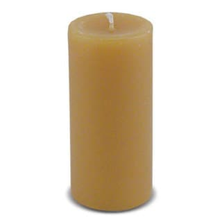 4-inch Cylindrical Beeswax Candle
