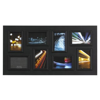 Melannco 8-opening Black Collage Frame