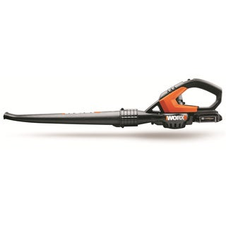 Worx Cordless Electric 20-volt Lithium-Ion Sweeper/ Leaf Blower with Air Accessories
