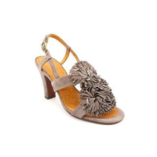 Chie Mihara Women's 'Troya' Regular Suede Sandals