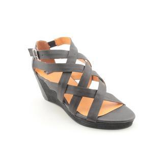 NYLA Women's 'Warner' Leather Sandals