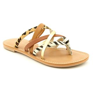 INC International Concepts Women's 'Gillian' Leather Sandals