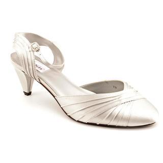 Dyeables Women's 'Alexis' Basic Textile Dress Shoes - Wide (Size 9.5 )