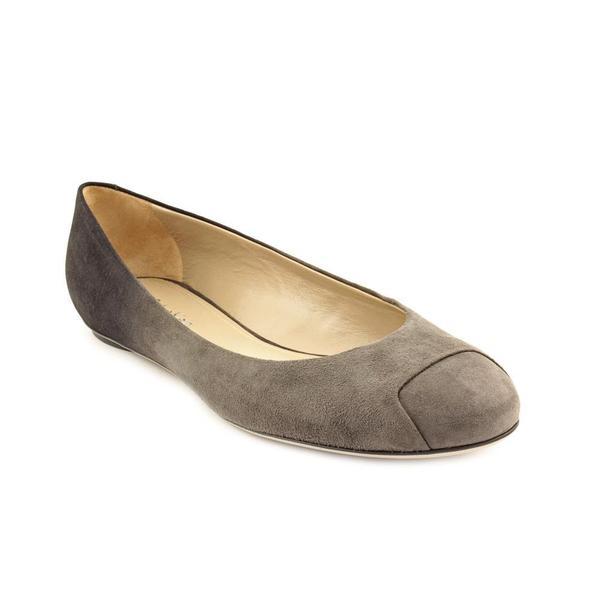 Calvin Klein Women's 'Alba' Regular Suede Casual Shoes (Size 5.5)
