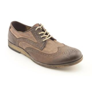 Vudu Shoes Men's 'Mark' Leather Casual Shoes
