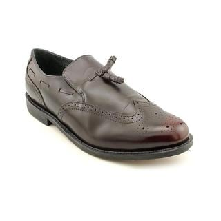 Executive Imperial Men's 'Tassel Slip' Leather Dress Shoes - Extra Wide (Size 9 )
