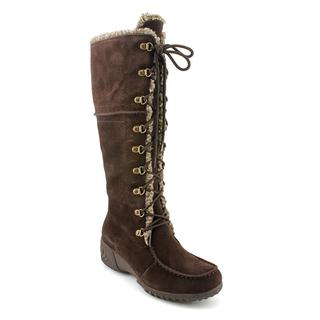 Khombu Women's 'Saturn Lace' Regular Suede Boots