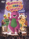 Barney: Barney's Colorful World! Live! (DVD)