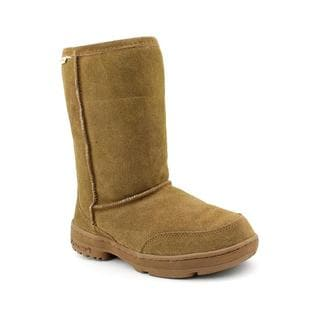 Bearpaw Women's 'Meadow Short' Lambskin Boots (Size 6 )