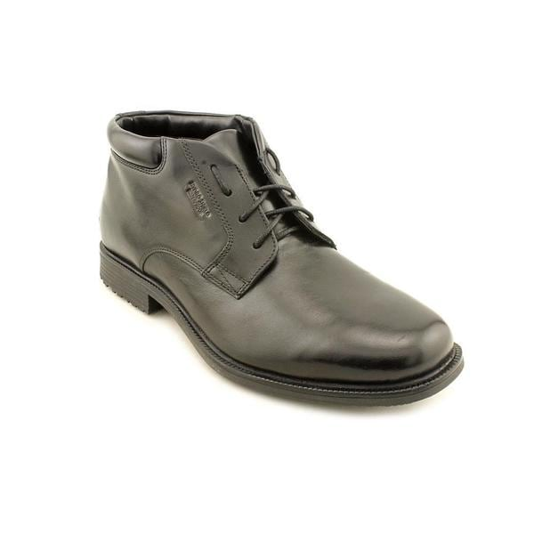 Rockport Men's 'Essential Details Waterproof' Leather Boots - Wide (Size 8.5 )