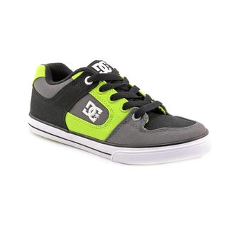 DC Boy (Youth) 'Pure Canvas' Canvas Athletic Shoe (Size 4 )