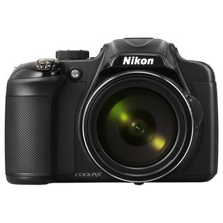 Nikon Coolpix P600 16.1 Megapixel Bridge Camera - Black