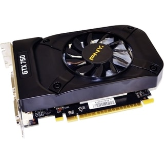 PNY GeForce GTX 750 Graphic Card - 1020 MHz Core - 1 GB GDDR5 SDRAM -