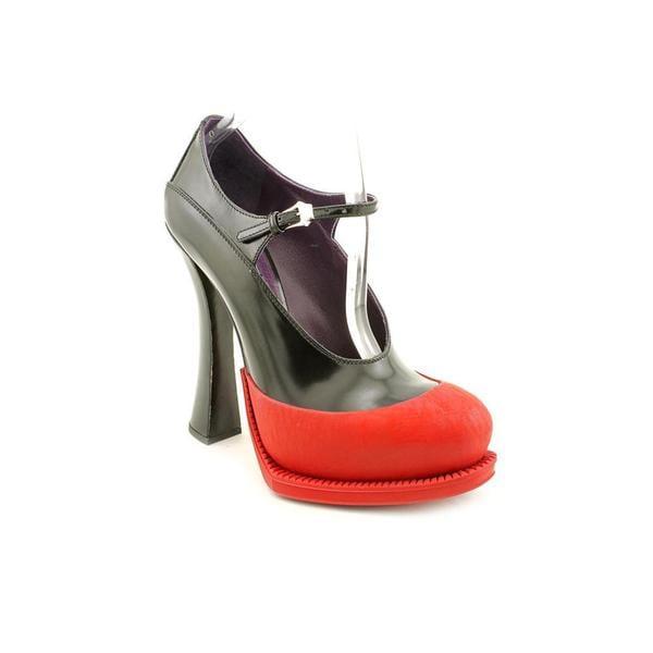Prada Women's '1ip187' Leather Dress Shoes (Size 7.5)