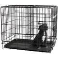 Oxgord Double Door Metal Pet Crate Pet for Dogs / Cats / Animals