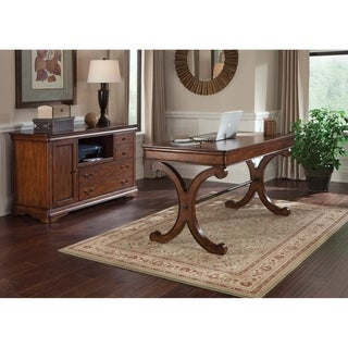 Liberty Rustic Cherry 2-piece Home Office Set