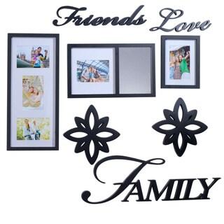 Melannco 8-piece Friends love Family Decorator Set