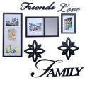 Melannco 8-piece Friends love Family Decorator Set