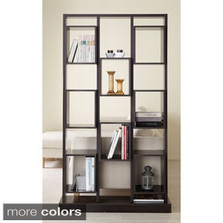 Furnitrue of America Caudaline Tower Cut-Out Bookcase