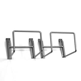 Proslat Silver Hose/Cord Holder (Pack of 2)