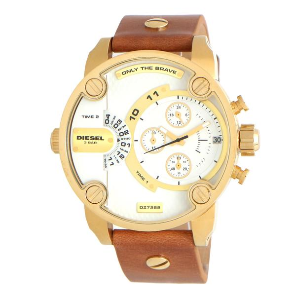 Diesel Men's DZ7288 Mr. Daddy Gold Chronograph Watch