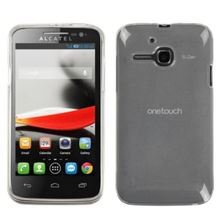 BasAcc Semi-Transparent Smoke Case for Alcatel 5020T/ One Touch Evolve