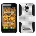 BasAcc White/ Black Astronoot Case for Alcatel 7024W/ One Touch Fierce